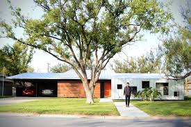 1950s homes a modern renovation of a 1950 u0027s house in texas design milk