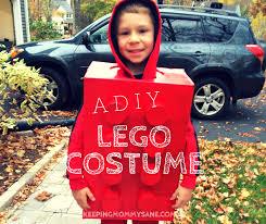 Boys Lego Halloween Costume Diy Lego Brick Halloween Costume