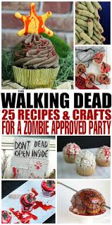 the walking dead 25 recipes and crafts for a zombie approved