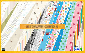 ts4 kid u0027s wallpaper collection no 1 onyx sims