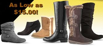 womens boots at payless s boots as low as 15 at payless today only