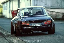 vintage alfa romeo race cars jason j u0027s sr20 swapped alfa romeo 2000 gtv stanceworks