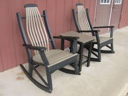 Big Rocking Chair Lancaster Poly Patios Home