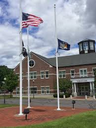 Indiana Flags At Half Staff Photos Niskayuna Town Hall Flags At Half Staff For D Day