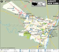 albany map albany map albany york map capital of york