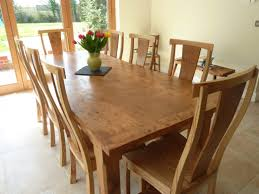 solid oak dining room furniture dining room beautiful solid wood table sets marceladick and chairs