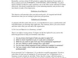 Some Examples Of Resume by Download Example Of Resume Summary Statements