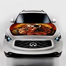 jeep cherokee cartoon online shop car styling cartoon hood stickers tokisaki kurumi