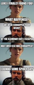 Luke Meme - luke skywalker explains why he was gone so long meme by