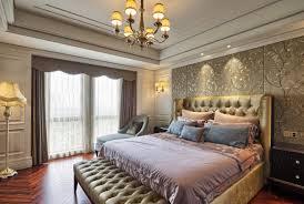 Schlafzimmer Gestalten Boxspringbett Tapeten Landhausstil Frische Ideen Wie Sie Die Wände Verkleiden