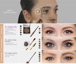 how to put on eyebrow makeup powder mugeek vidalondon