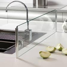 credence cuisine verre trempé credence cuisine verre trempe 1 cr233dence en verre pour 238lot