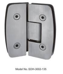 90 to 180 degree automatically close shower door hinges glass to
