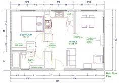 house plans with guest house 30 x 30 house plans guest house 30u0027 x 25u0027 house plans