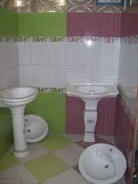 salle de bain vert et marron emejing model de faience alger contemporary home decorating