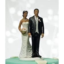 figurine mariage mixte figurine de mariage de couleur décorations de mariage
