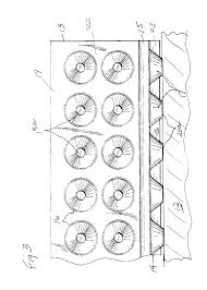 patent us6672016 wall and sub floor water drain barrier panel
