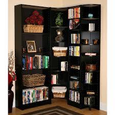 Corner Bookcase Units by Corner Bookcase Units Doherty House Effectively Corner