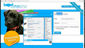 how to create mobile apps with chat room chatwing youtube