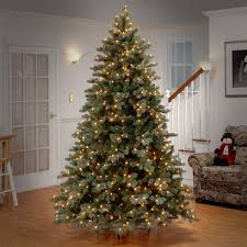 darby home co 7 5 colorado spruce frosted artificial
