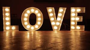 wedding letters in lights 2 rochesters event hire