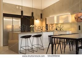 Loft Modern Coffee Shop Loft Modern 3d Render Stock Illustration 447651460