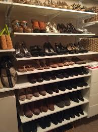 Closet Shoe Organizer Excellent Closet Shoe Rack Ideas 129 Closet Shoe Shelf Ideas Walk