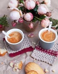 Wedding Gift Knitting Patterns French Inspired Knitted Coasters Diy And Video Go Make Me