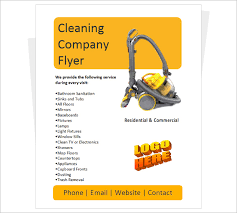 cleaning brochure templates free 22 company flyer templates psd eps word files