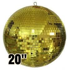 disco rental 20 gold mirror disco rental props av audio visual