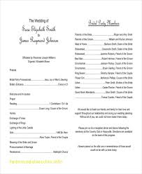 order of wedding program exclusive catholic wedding order of service template free