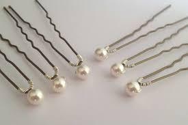 pearl hair pins pearl hair accessories wedding magnificent hair pins handmade
