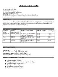 student resume format vsdev info