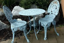 Cast Iron Bistro Table And Chairs Vintage Cast Iron Patio Furniture Old Garden Table And Chairs