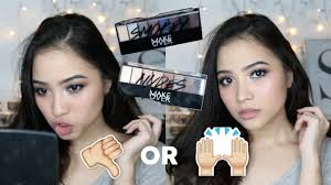 Eyeshadow Wardah Vs Makeover new makeover eyeshadow palette review tutorial
