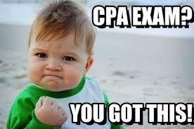 Cpa Exam Meme - cpa exam success kid original meme on memegen