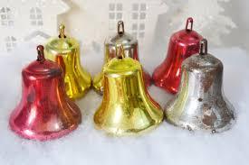 large plastic bells vintage by relicsandrhinestones