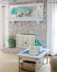 home decor fresh how to paint a stone fireplace decoration ideas