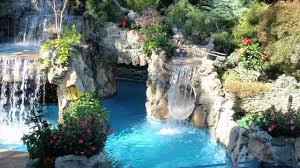 Backyard Waterfall Which Location Is Best For Backyard Waterfall Design Nature