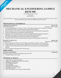 mechanical engineering resume mechanical engineering resume sle resumecompanion aqib