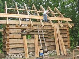 log cabin ideas cabin roof