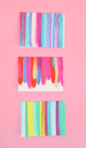 Cool Art Project Ideas by Paint Scrape Notecards Diy Art Project Idea Diy Art Projects