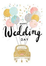 happy wedding day happy wedding day atw011 by louisetiler calypso