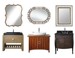 nice lamps plus wall mirrors part unique bathroom vanity home