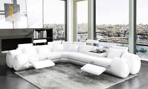 canapé d angle cuir blanc design deco in 1 canape d angle cuir design blanc relax