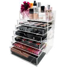 ikea makeup organizer drawer wholesale divisoria lipstick cosmetic black cheap acrylic