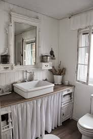 Cottage Style Bathroom Cabinets by