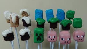 minecraft cake pops youtube