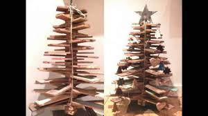wooden christmas tree youtube