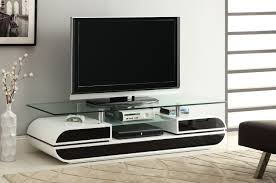 Modern Livingroom Sets Modern Low Profile Tv Console Design With Glass Top For Modern